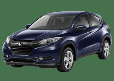 Honda HR-V front left side view, blue color
