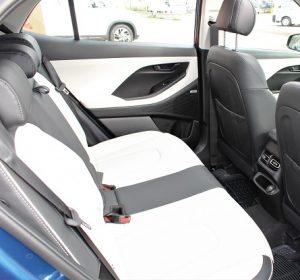 Hyundai Creta 2021, rear passenger seats view