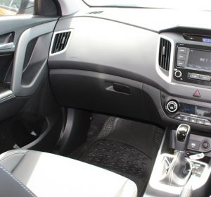 Hyundai Creta website interior front left view