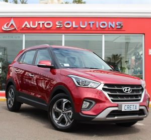 Hyundai Creta website side view