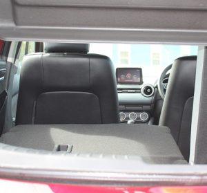 Mazda 2 website interior 60 40 view