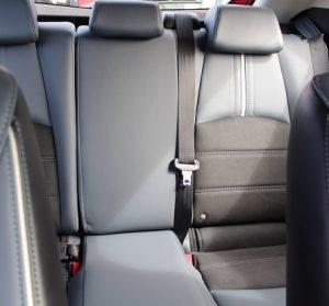 Mazda 2 website interior back seat view