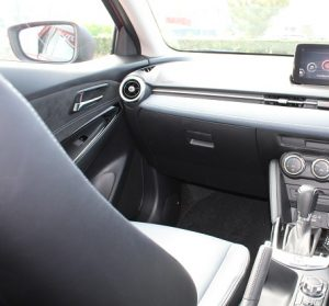 Mazda 2 website interior pass view