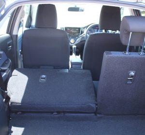 Suzuki Baleno Website interior 60 40 trunk view