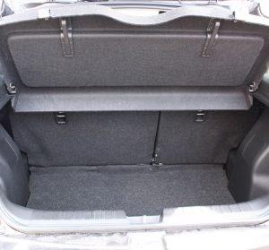 Suzuki Baleno Website interior trunk view