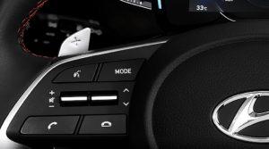 hyundai creta 2021, paddle shifters and Steering Wheel Audio Controls