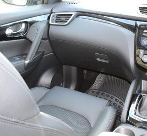 Nissan Qashqai website interior pass view