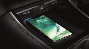 Hyundai i20 wireless charger