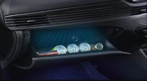 Hyundai i20 cooling glove box