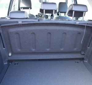 Hyundai Venue website interior trunk view