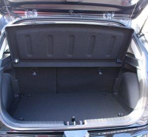 Hyundai Venue website trunk view