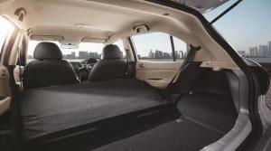 HYUNDAI ATOS bench Folding rear seat