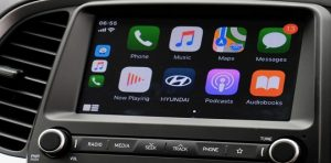 """HYUNDAI ATOS 7"""" Touchscreen! Enjoy the ultimate in connectivity with Bluetooth 4.0 hands-free support for Apple CarPlay, Android Auto and MirrorLink, stay safely entertained, & connected via your smartphone."""